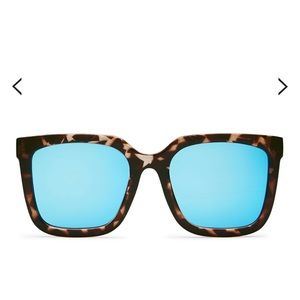 Quay Australia Genesis Tortoiseshell Sunglasses
